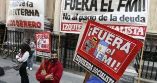 © Proporcionado por ADN RadioManifestación contra el FMI en Buenos Aires durante la pandemia en 2020